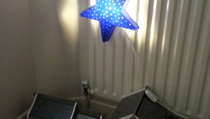 How to create a magnetic light for kid's bedroom