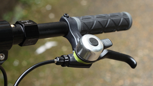 Attach your bike bell to your brake lever