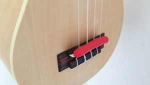 How to make a practice mute for your ukulele
