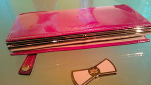 Repair the clasp on a Ted Baker purse