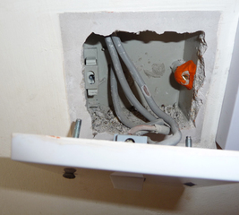 Tricky light switch repair