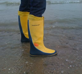 Waterproof your favorite rainboots