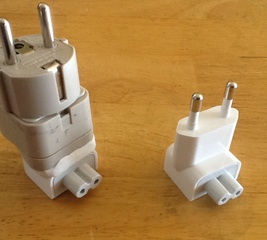 Make your own Apple travel adapter