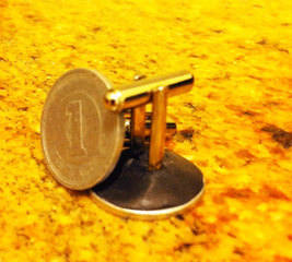 Customised cufflinks