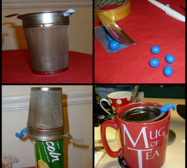 Modify a tea strainer