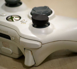 Fix an XBox 360 controller thumbsticks
