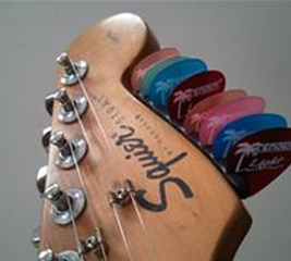 Make a pick holder for your guitar