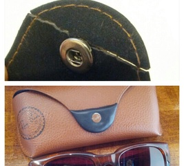 Repair a Ray-Ban glasses case