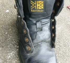Fix a worn tongue on boots