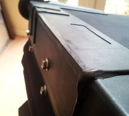 Repair a travelling case