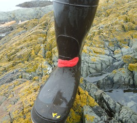 Fix a rubber boot