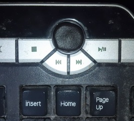 Replace the volume knob on a keyboard