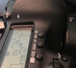 Improve buttons on a DSLR