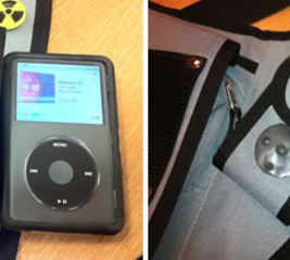 Control your iPod when it's encased
