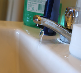 Stop your taps from dribbling