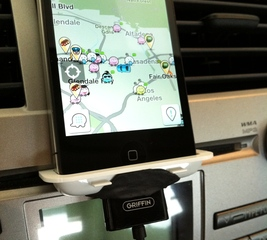 Make a super simple iPhone car mount
