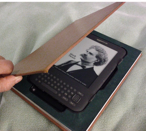 Reinforce a Kindle's case
