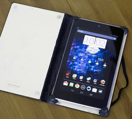 Create tablet case from a notebook
