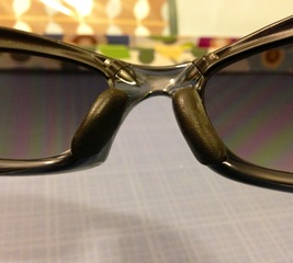 Replace nose pieces on Oakley sunglasses