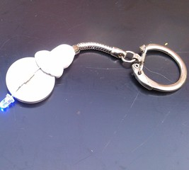 Make a LED light keyring