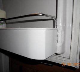 Repair a fridge door