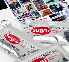 3 large 20gram mini packs of sugru