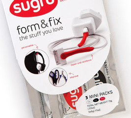 3 mini packs of sugru (3x5g)