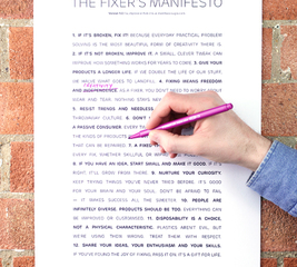 The Fixer's Manifesto