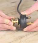 How to make plugs easier to pull with vintage door handles