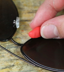 How to replace missing pads on glasses